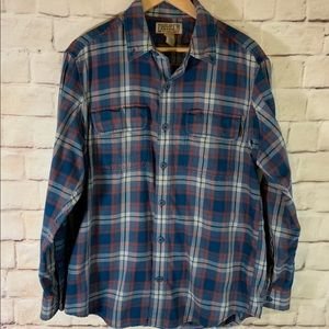 Duluth Trading Company Shirt, Flannel, M